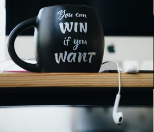 You can win if you want.